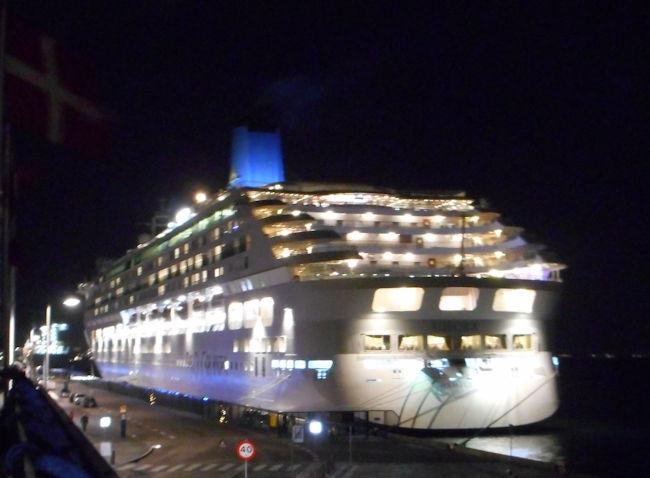 Årets sidste krydstogtskib i København (2015)
