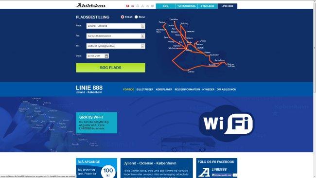 Abildskou – Linie 888 Linie 888 – Abildskou