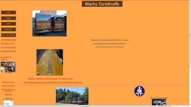 Blach's Turisttrafik Turistbuskørsel.