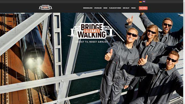 Bridgewalking Lillebælt