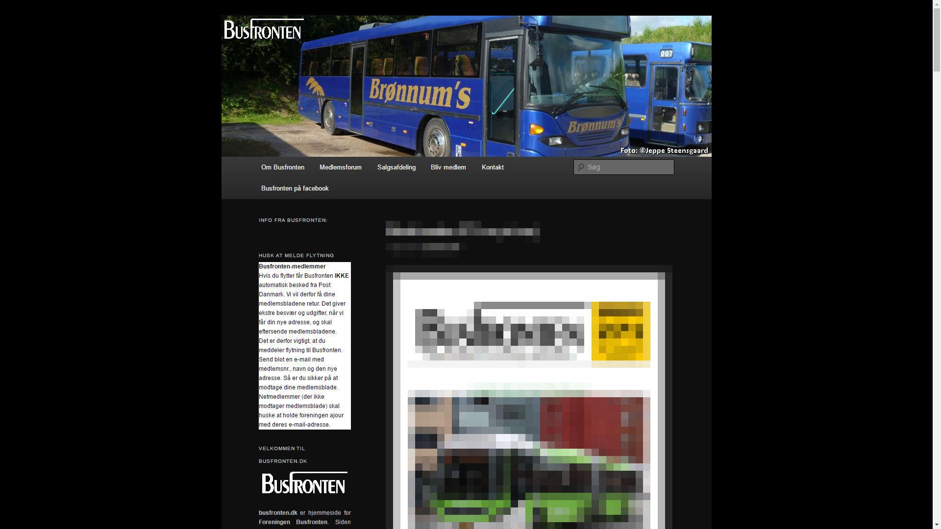 Busfronten Foreningen Busfronten