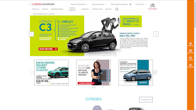 Citroën Citroën Danmark