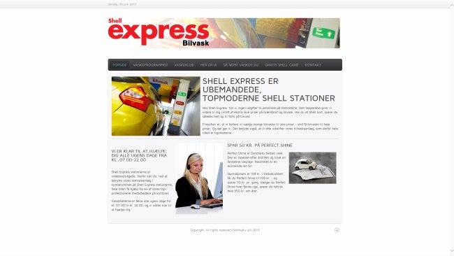 Shell express Bilvask
