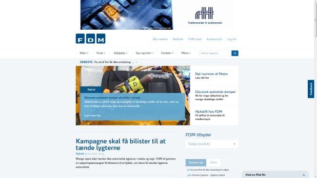 FDM – Forenede Danske Motorejere