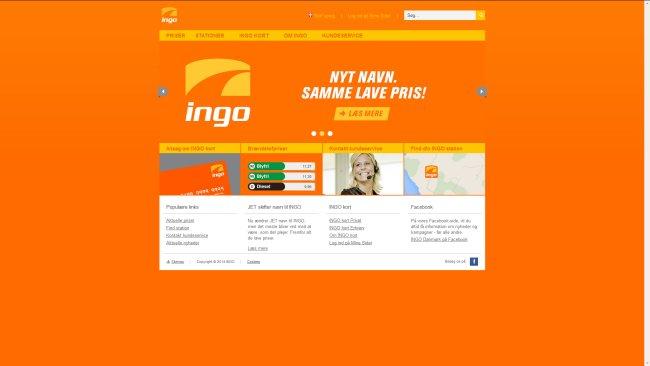 Ingo Danmark Ingo Danmark (tidl. Jet)