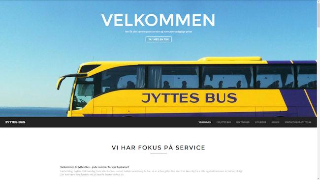 Jyttes Bus Busselskab med base ved Ølstykke.