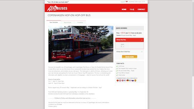 Red Buses Copenhagen Red Buses – Hop On Hop Of Copenhagen