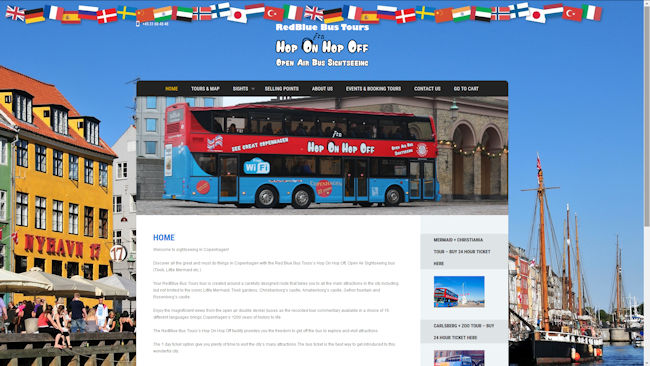 Red Blue Bus Tours Open Top Sightseeing