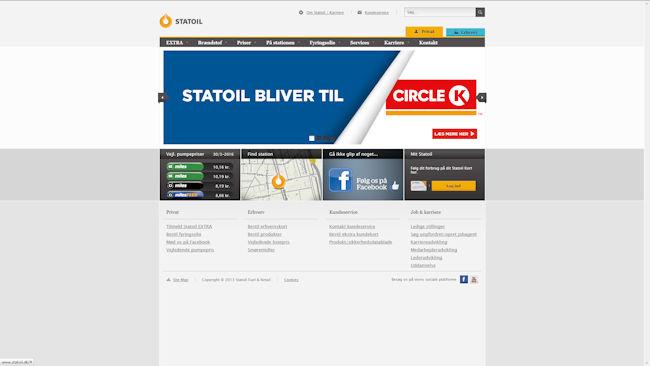Statoil Danmark (fra medio 2016: Circle K)