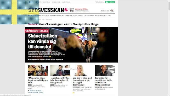 Sydsvenskan Sverige