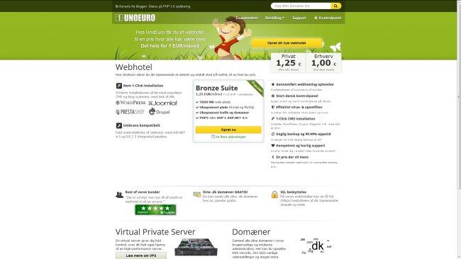 UnoEuro Webhoteller
